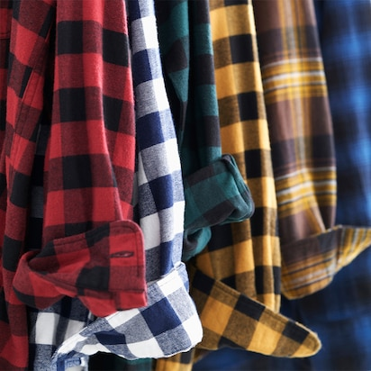Flannel Checked Shirts