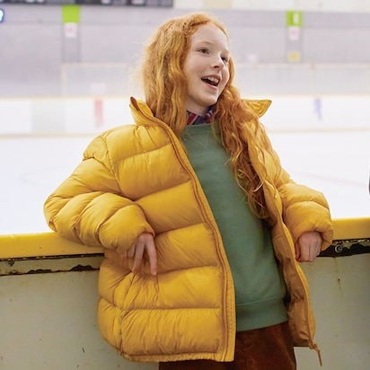 Kids Voluminous Warm Padded Jackets