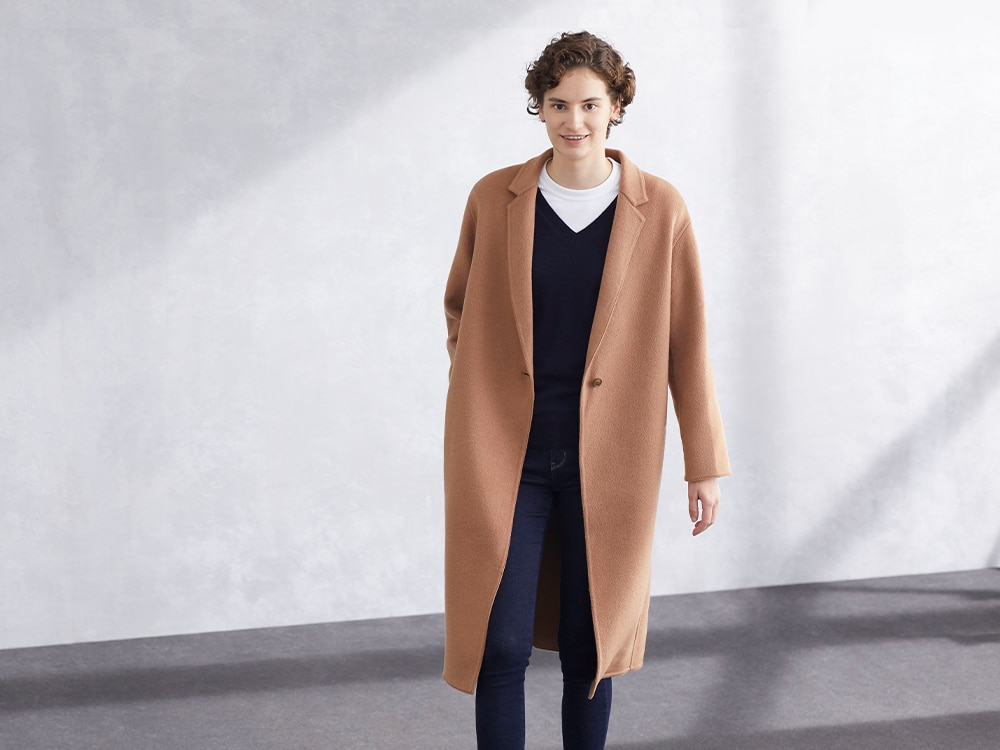 Double Face Cocoon Coats