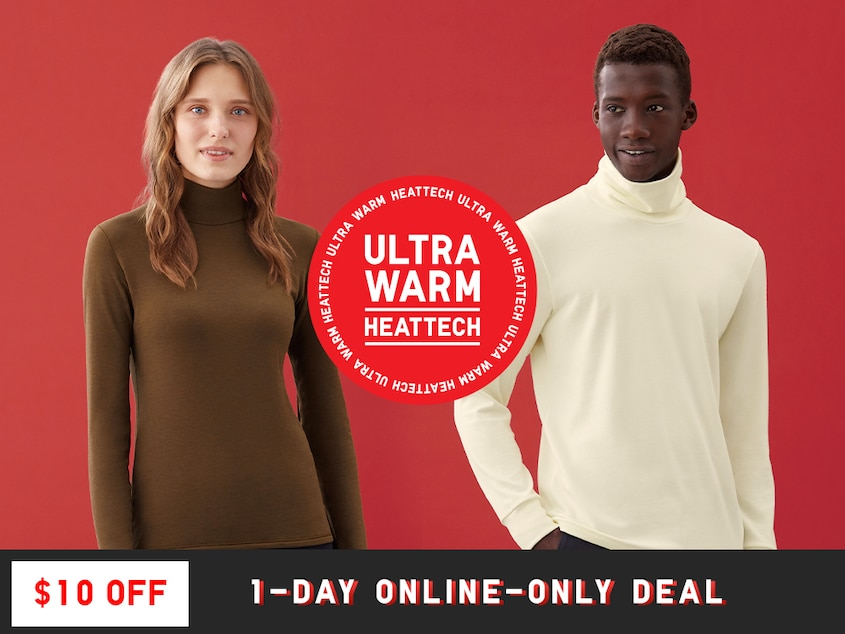 $10 Off Our Warmest Innerwear