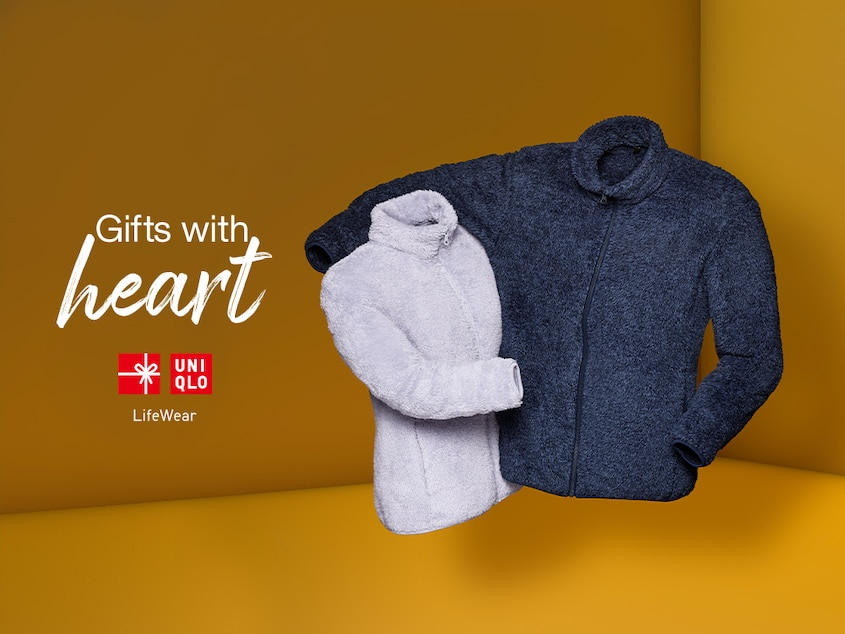Give Feel-Good Fleece