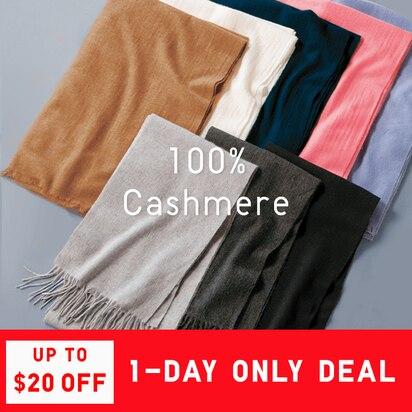 100% Cashmere Winter Accessories