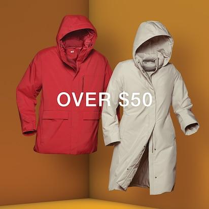 Hybrid Down Coats