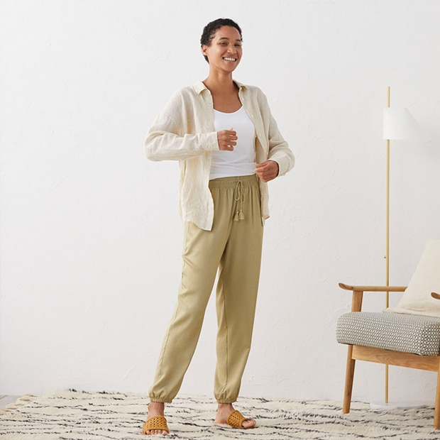 All-Day Comfort: Drape Pants