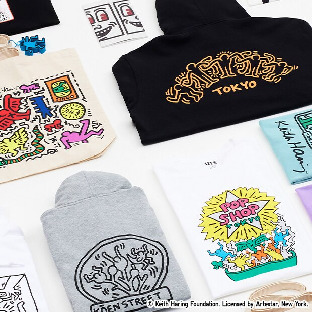Keith Haring x Tokyo Sweat Hoodies