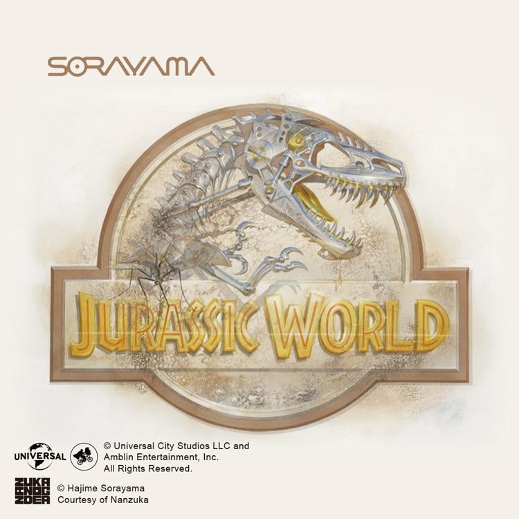 Jurassic_World_x_HAJIME_SORAYAMA UT Tile