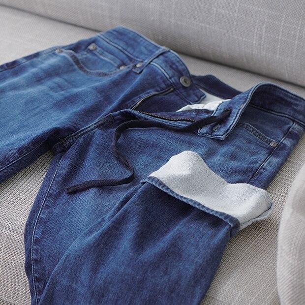Feels Like Sweat. Looks Like Jeans.