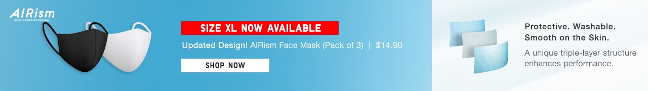 airism mask xl size now available