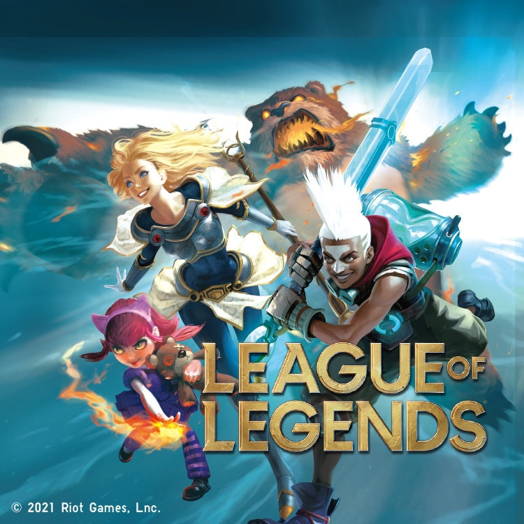 League of Legends Arriving 5/24