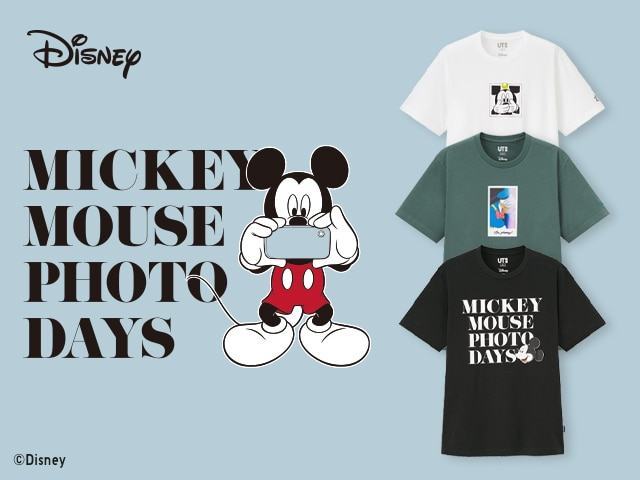 Just Arrived! Mickey Mouse Photo Days