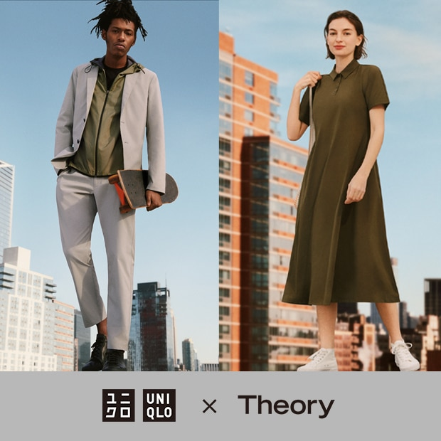 UNIQLOs collaboration with New York-based contemporary fashion brand, Theory.