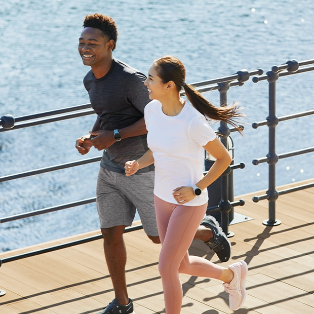 Enjoy working out in high-quality performance wear.