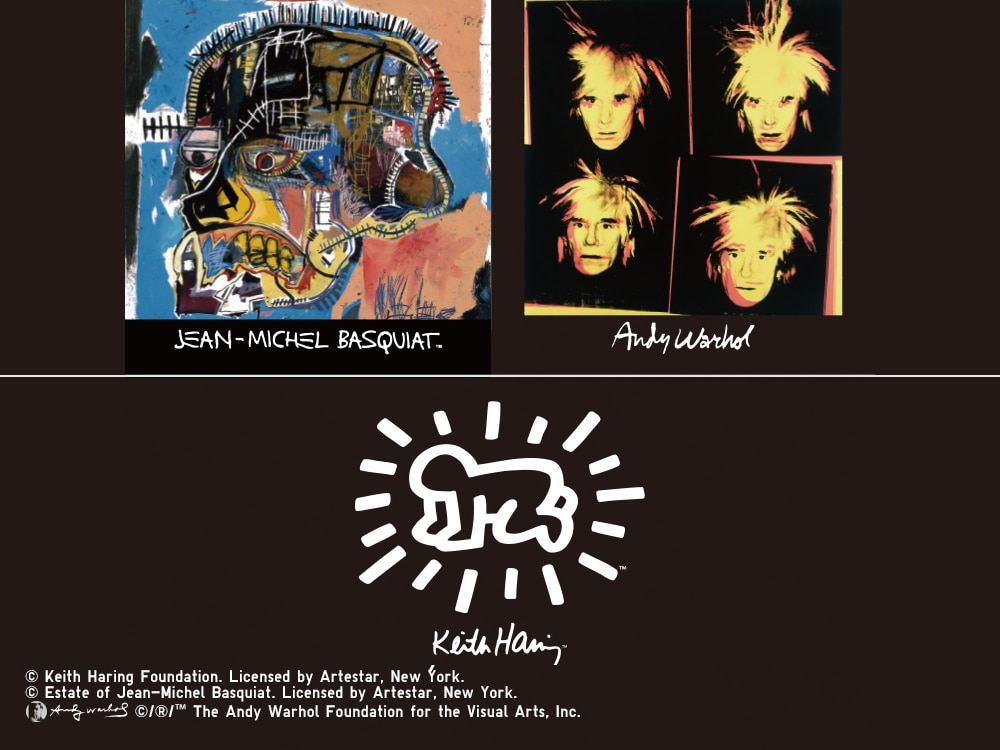 Andy_Warhol_/_Jean-Michel_Basquiat_/_Keith_Haring Main Image