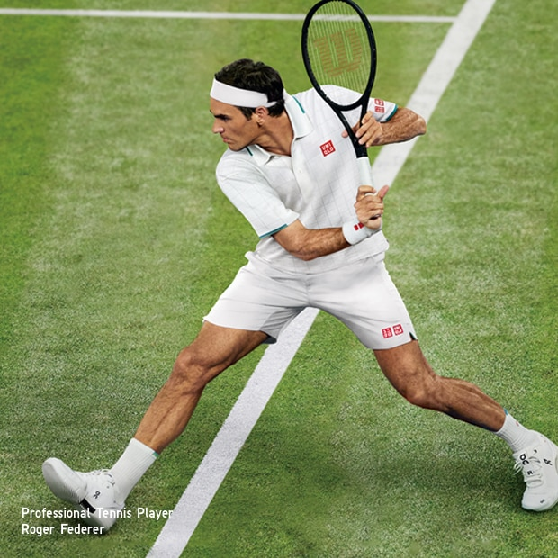 Shop LifeWear that keeps Roger on top of his game!