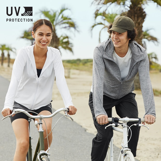 Light and breathable sun protection to take everywhere.