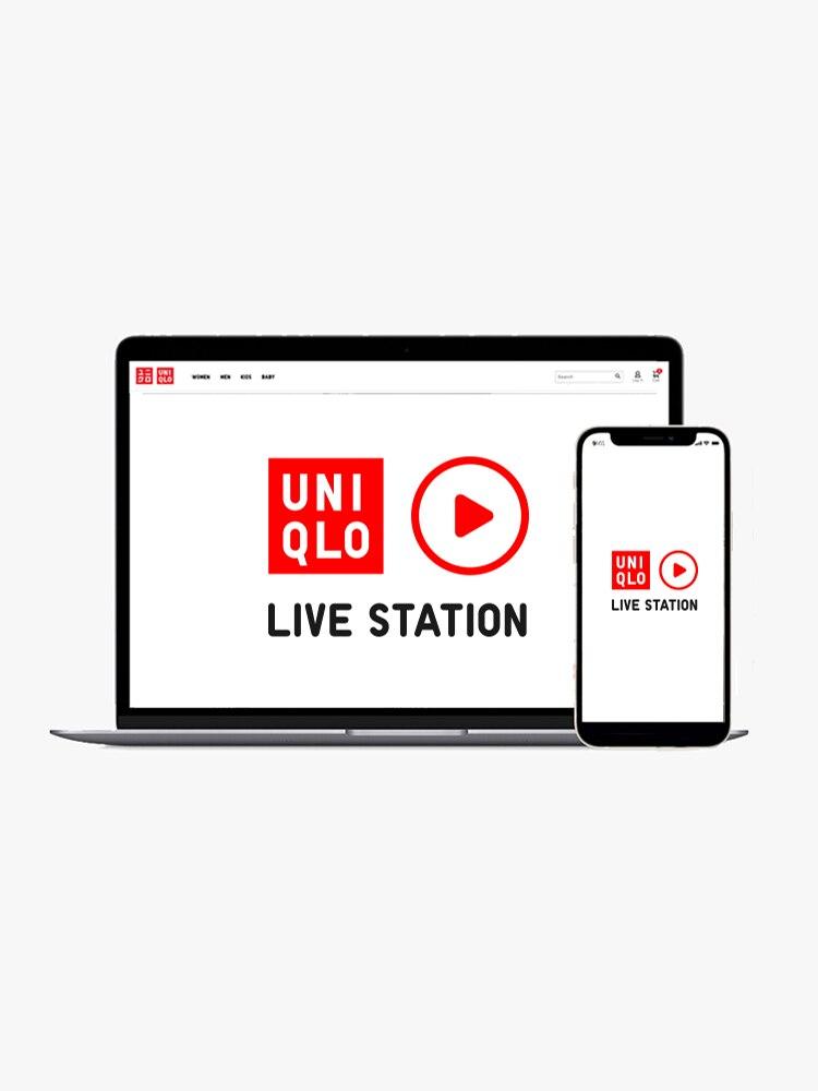 Tune into UNIQLO Live Station!