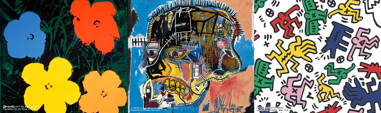 Andy Warhol / Keith Haring / Jean-Michel Basquiat Collection