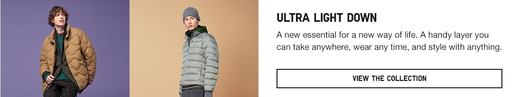 click here to learn more about the Ultra Light Down styles