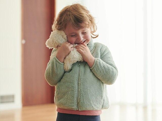 Fluffy Yarn Fleece Jackets
