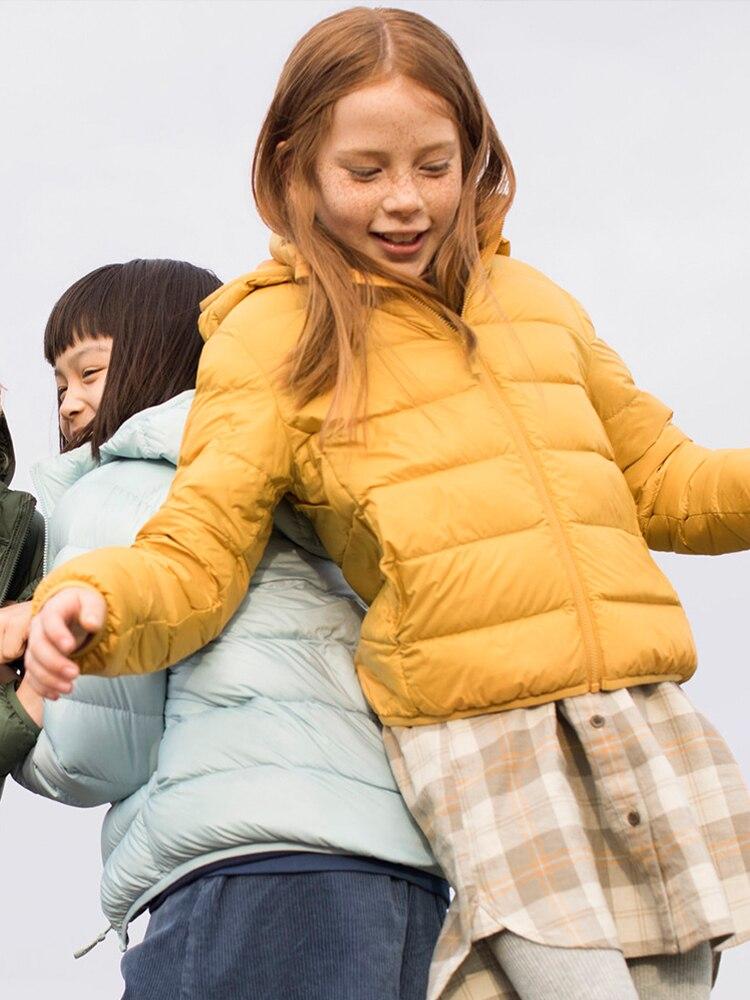 Lightweight warmth keep kids active all year.