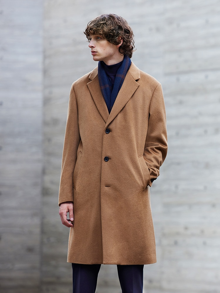 Beautiful sheen & soft to the touch. A perfect Fall layer to add on.