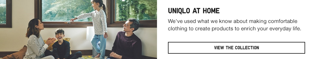 click here to learn more about the Uniqlo At Home Collection