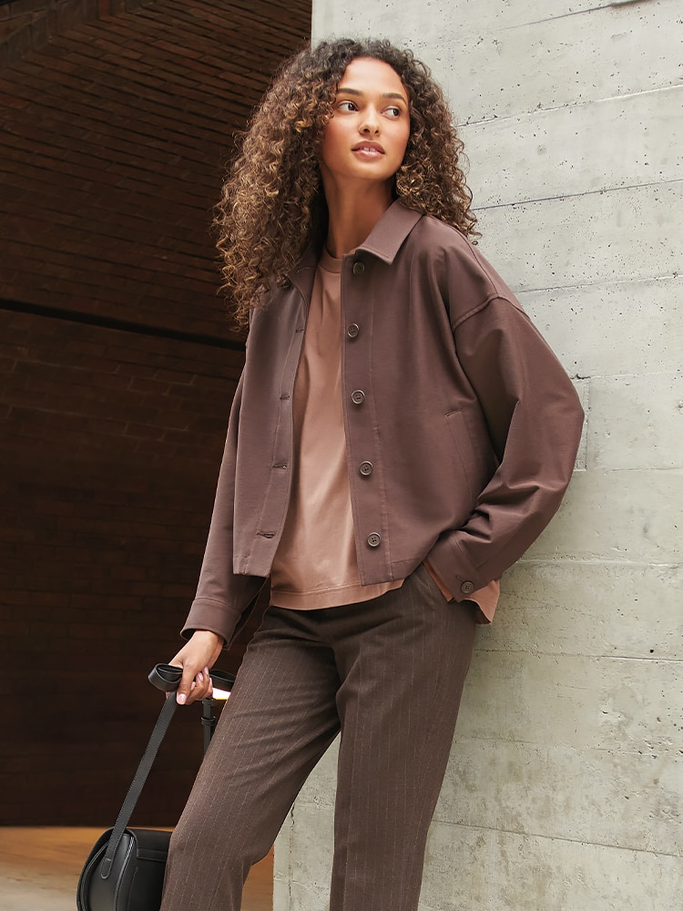 The perfect light layer. Comfort with a modern look.