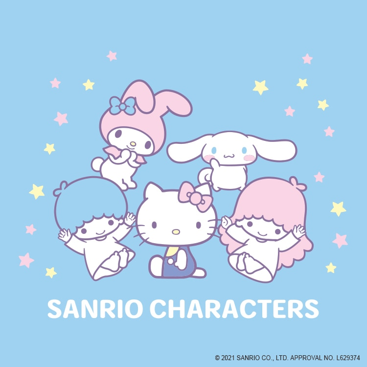 A collection featuring Sanrio characters relaxing in their rooms!