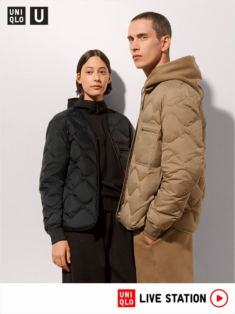 Watch the archive show for Uniqlo U Collection