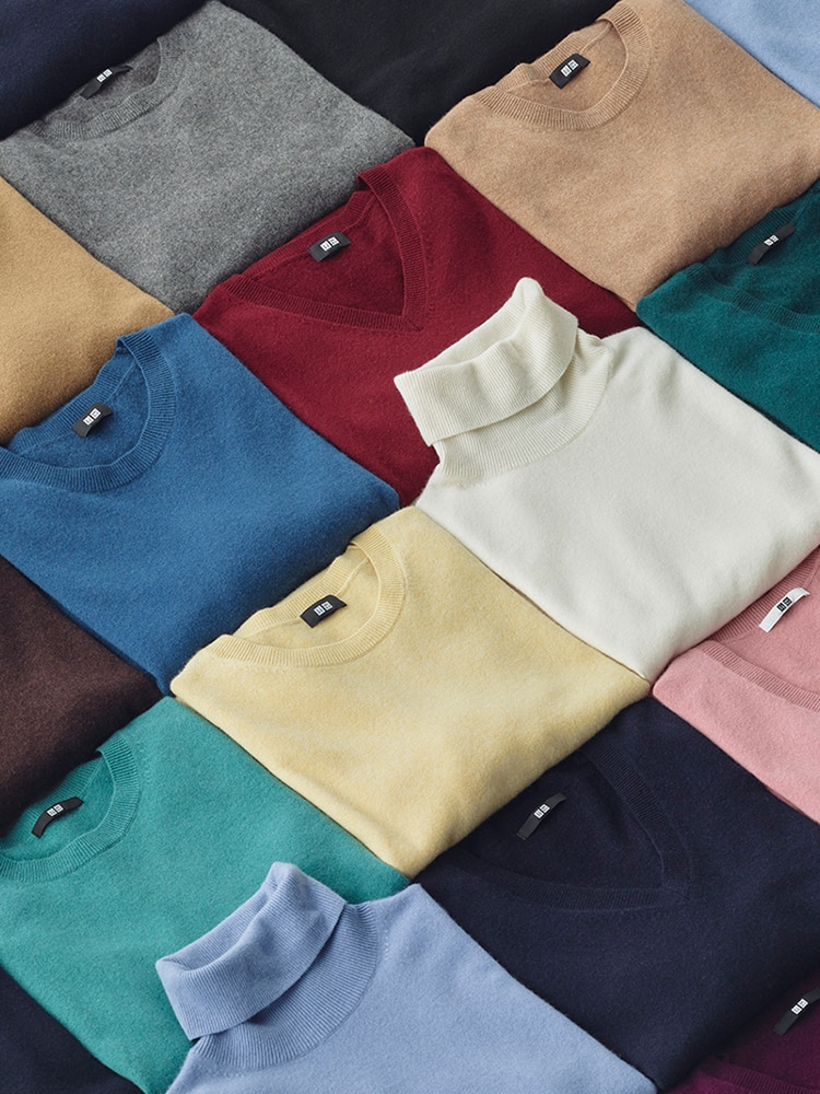 Our luxe 100% cashmere offers incomparable softness in a variety of colors.