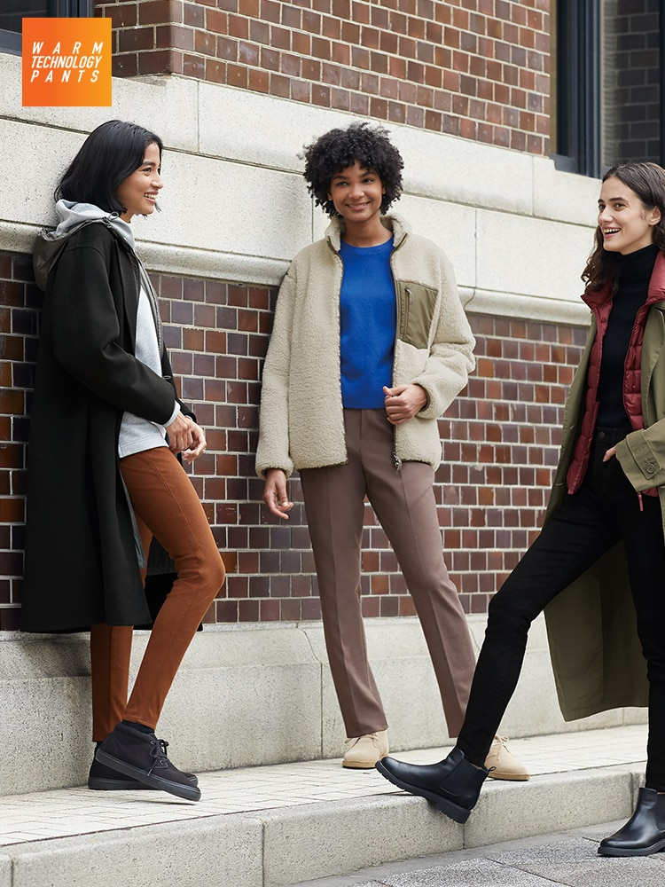 Stay nice and warm with pants featuring wearable technology.