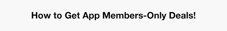 App Member Deals Header