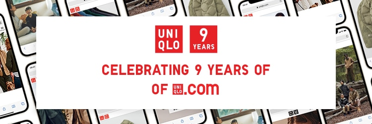 An image of Celebrating 9 years of UNIQLO.com