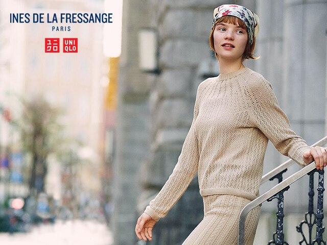 Ines de la Fressange 3D Knit Pointelle Sweater