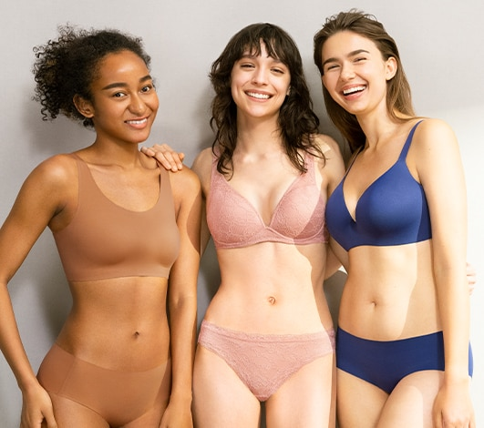 women's bras and underwear