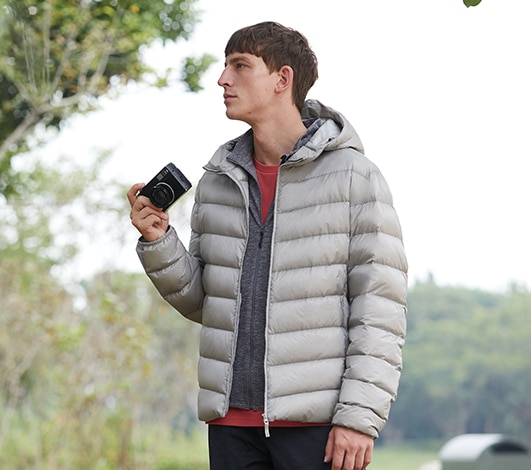 Men's Down Jackets & Coats | Puffer Jackets & Vests for Men