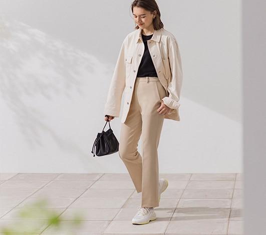 women smart pants