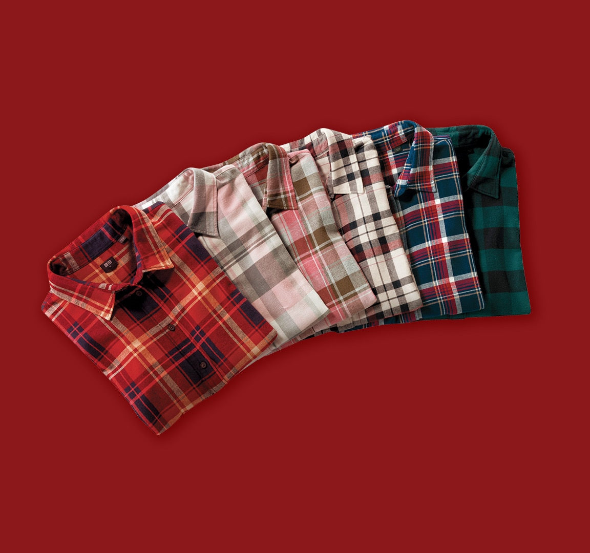 Flannel Shirts detail