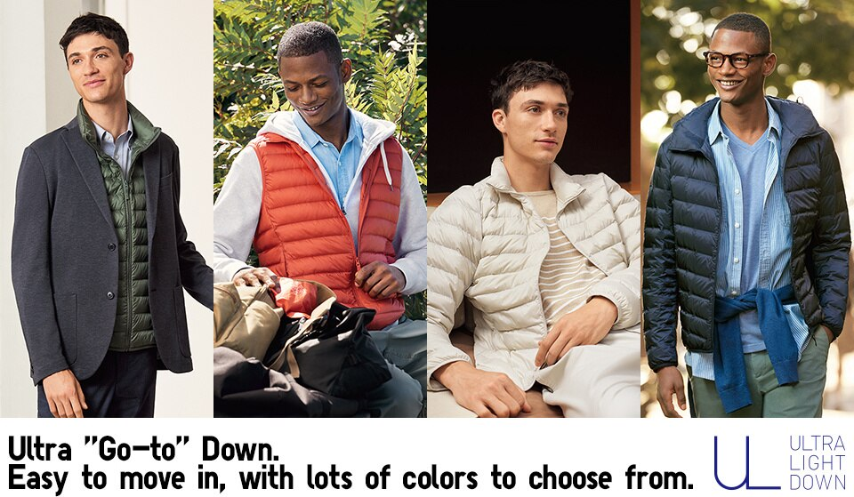 Ultra 'Go-to' Down. Easy to move in, with lots of colors to choose from.