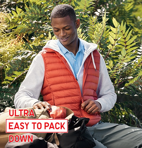 ULTRA EASY TO PACK DOWN
