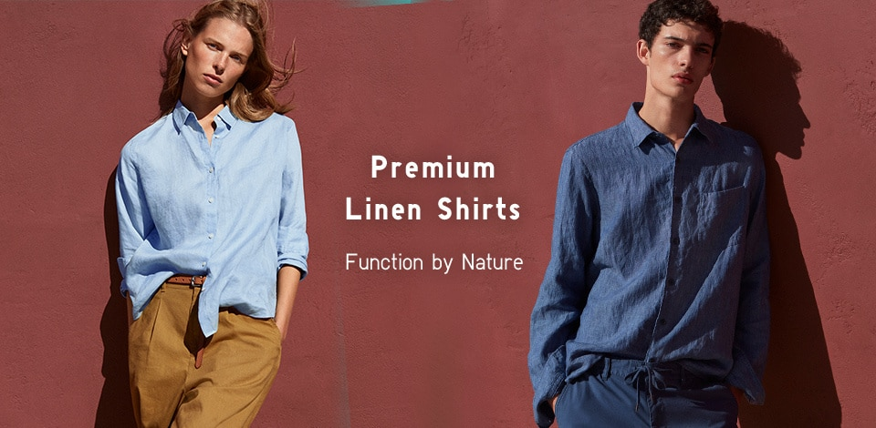 Premium Linen Shirts Function by Nature