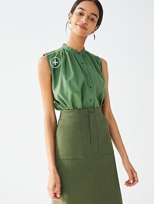 3d8fc0f1eee2 Women Linen   Shirts & Blouses   Outerwear   UNIQLO UK