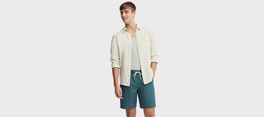 3bb44a26b7 Men Swimwear | Swimwear | T-Shirts & Tops | UNIQLO UK