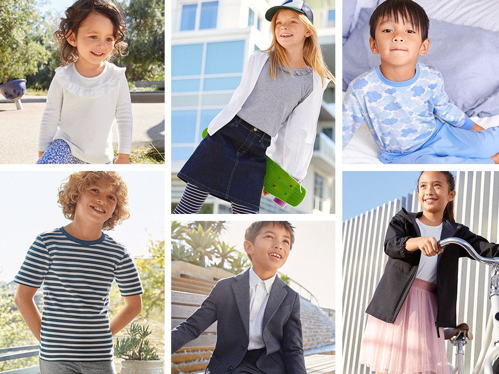c9fe75b5c Boys Collection: T-Shirts, Polos, Shorts, Pants, & More | UNIQLO US