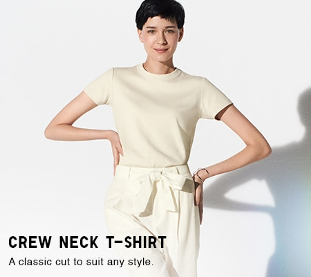 0c11554158d3f6 Women's T-Shirts & Polo Shirts | UNIQLO