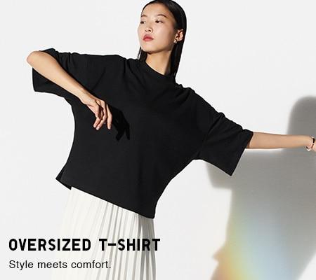 1daf8d4b21875 Women's T-Shirts & Polo Shirts   UNIQLO
