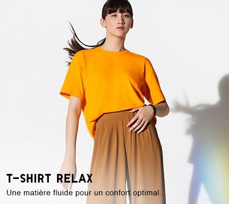 a66360c6e4c3f T-shirts femme et Polos femme : coton, col en V, manches longues ...