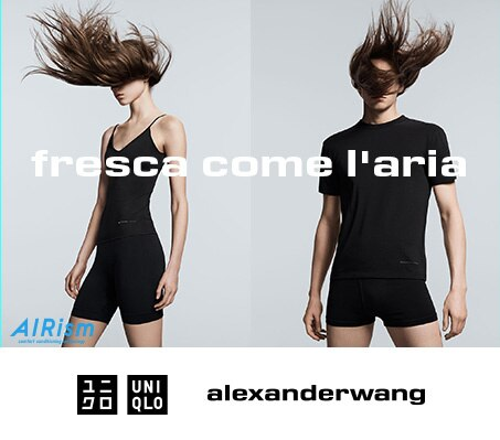 UNIQLO & ALEXANDERWANG PRIMAVERA/ESTATE 2019