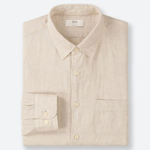 MEN PREMIUM LINEN LONG-SLEEVE SHIRT/us/en/men-premium-linen-long-sleeve-shirt-414572.html