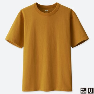 MEN U CREW NECK SHORT-SLEEVE T-SHIRT/us/en/men-u-crew-neck-short-sleeve-t-shirt-414351.html